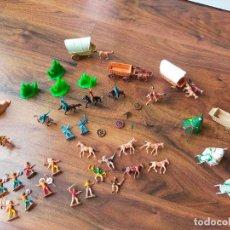 Figuras de Goma y PVC: LOTE MINIOESTE COMANSI. Lote 268980844