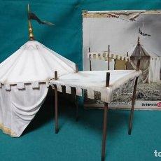 Figuras de Goma y PVC: TIENDA DE CAMPAÑA SCHLEICH 40193. Lote 268988879