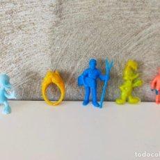 Figuras de Goma y PVC: LOTE DUNKIN ANILLO GRANJA. Lote 268991469