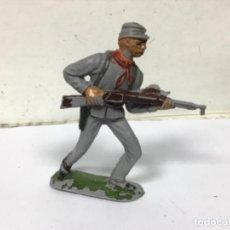 Figuras de Goma y PVC: FIGURA CONFEDERADO JECSAN GUERRA CIVIL SECESION AMERICANA FEDERAL NO REAMSA COMANSI LAFREDO PEC. Lote 269013729