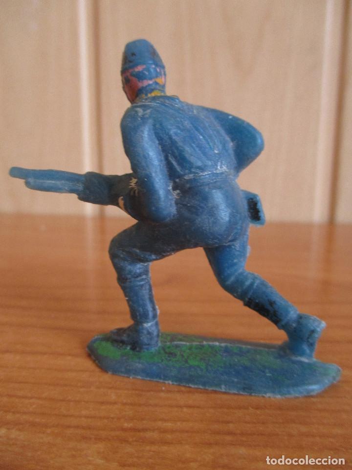 Figuras de Goma y PVC: FIGURA ANTIGUA SOLDADO FEDERAL O NORDISTA ( PECH , JECSAN , REAMSA , OLIVER , COMANSI , ETC) - Foto 2 - 269046888