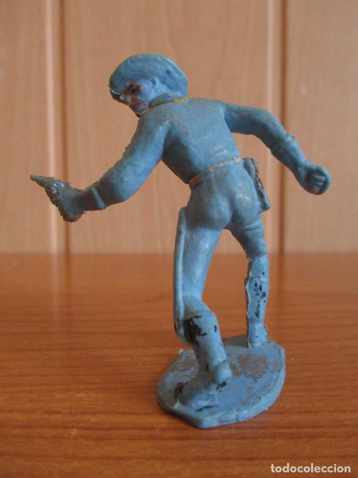 Figuras de Goma y PVC: FIGURA ANTIGUA SOLDADO FEDERAL ( PECH , JECSAN , REAMSA , OLIVER , COMANSI , ETC) - Foto 2 - 269047498