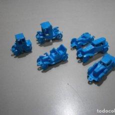 Figuras de Goma y PVC: LOTE DE COCHES PROMOCION PREMIUM CONGUITOS DUNKIN. Lote 269054513
