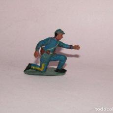 Figuras de Goma y PVC: ANTIGUO YANKEE 7º CABALLERÍA SERVIDOR CAÑÓN FABRICADO EN GOMA POR PECH HERMANOS - AÑO 1950-60S.. Lote 269119563