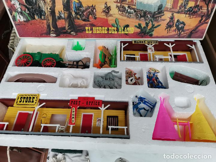 Figuras de Goma y PVC: JOYA COLECCIONISTAS ! JUGUETE EN CAJA REF.145 DAVY CROCKETT EL HEROE DEL ALAMO . COMANSI - Foto 11 - 269123753
