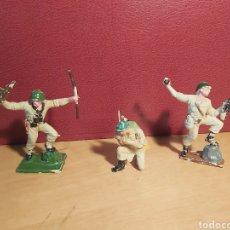 Figuras de Goma y PVC: PECH HERMANOS. 3 SOLDADOS AMERICANOS. NO JECSAN. NO REAMSA. LOTE 1.. Lote 269137118