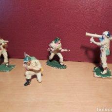 Figuras de Goma y PVC: PECH HERMANOS. 4 SOLDADOS AMERICANOS. NO JECSAN. NO REAMSA. LOTE 2.. Lote 269137238