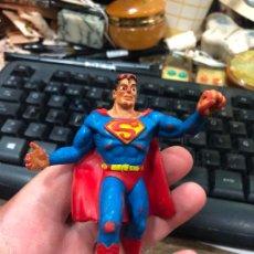Figuras de Goma y PVC: ANTIGUO MUÑECO GOMA PVC - SUPERMAN COMICS SPAIN - MEDIDA 9 CM. Lote 269150378