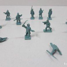 Figuras de Goma y PVC: LOTE DE SOLDADITOS MONTAPLEX - SOLDADOS DEL NORTE . AÑOS 70 / 80. Lote 269153428