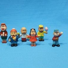 Figuras de Goma y PVC: LOTE DE 6 FIGURAS EN GOMA - LULÚ Y SUS AMIGOS. Lote 269212328