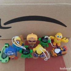 Figuras Kinder: LOTE 9 FIGURITAS KINDER,MINIONS,MARVEL,PINGÜINOS. Lote 269268263