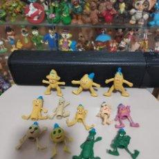 Figuras de Goma y PVC: RAREZA COLECCIONISTAS COLECCION MUÑECOS FIGURAS GOMA PVC AÑOS 80 PANDILLA VEGETAL BOOTLEG NO FRUITIS. Lote 269274673