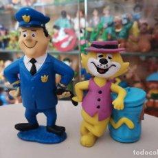 Figuras de Goma y PVC: OCASION COLECCIONISTAS MUÑECOS FIGURAS GOMA PVC 1991 DON GATO POLICIA MATUTE MINILAND HANNA BARBERA. Lote 269275393