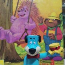 Figuras de Goma y PVC: OCASION COLECCIONISTAS MUÑECO FIGURA GOMA PVC AÑOS 80 MINILAND DIBUJOS ANIMADOS HUCKLEBERRY HOUND. Lote 269276798