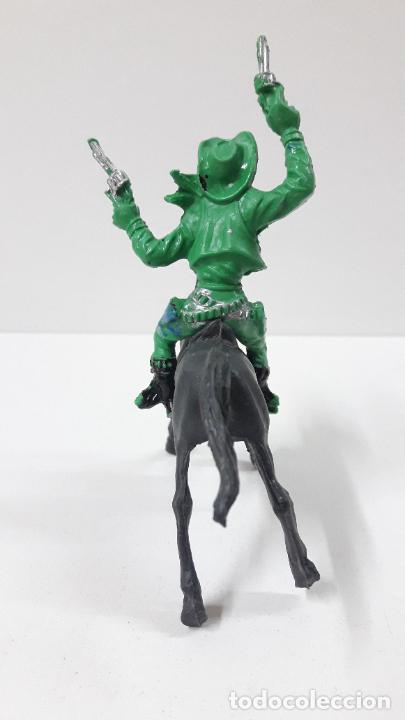 Figuras de Goma y PVC: VAQUERO - COWBOY A CABALLO . REALIZADO POR LAFREDO / REIGON . ORIGINAL AÑOS 60 - Foto 4 - 269335128