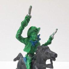 Figuras de Goma y PVC: VAQUERO - COWBOY A CABALLO . REALIZADO POR LAFREDO / REIGON . ORIGINAL AÑOS 60. Lote 269335128