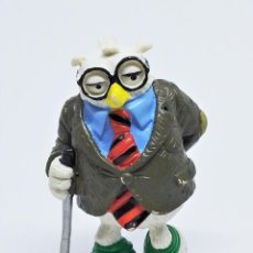 Figuras de Goma y PVC: FIGURA DE PERFESSER COSMO FISHHAWK DE LA TIRA CÓMICA SHOE DE JEFF MACNELLY DE COMICS SPAIN 1986. Lote 269353048