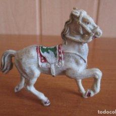 Figuras de Goma y PVC: FIGURA ANTIGUA CABALLO LAFREDO ( PECH , JECSAN , REAMSA , COMANSI , ETC). Lote 269358538