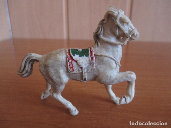 FIGURA ANTIGUA CABALLO LAFREDO ( PECH , JECSAN , REAMSA , COMANSI , ETC) (Juguetes - Figuras de Goma y Pvc - Lafredo)