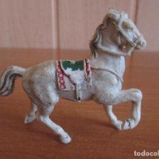 Figuras de Goma y PVC: FIGURA ANTIGUA CABALLO LAFREDO ( PECH , JECSAN , REAMSA , COMANSI , ETC). Lote 269358878
