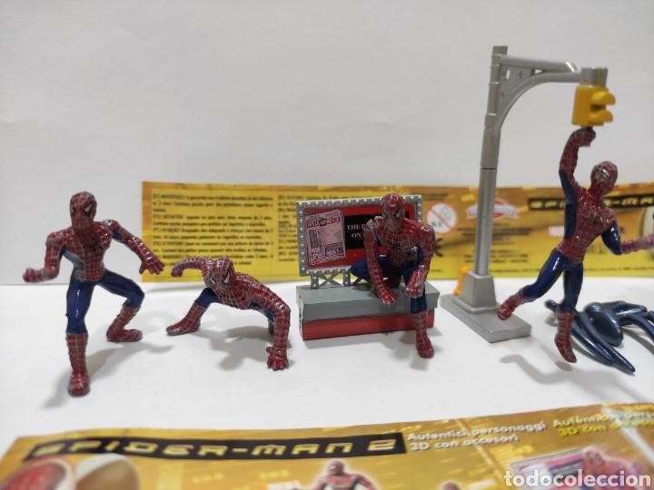 Figuras Kinder: Lote 8 Figuras Spider-man Spiderman 2 Colección Completa Estilo Kinder Huevos Sorpresa Muñecos Pvc - Foto 2 - 269379023