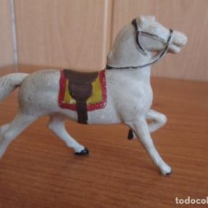 Figuras de Goma y PVC: FIGURA ANTIGUA CABALLO DE TIRO REAMSA ( PECH , JECSAN , REAMSA , COMANSI , ETC). Lote 269382463
