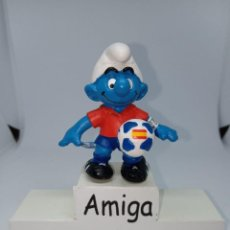 Figuras de Goma y PVC: PITUFO UEFA 2016 - ESPAÑA - SCHLEICH. Lote 269387818