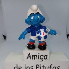 Figuras de Goma y PVC: PITUFO UEFA 2016 - FRANCIA - SCHLEICH. Lote 269388278