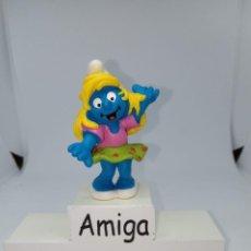 Figuras de Goma y PVC: PITUFINA DISCO - BAILANDO - SCHLEICH. Lote 269388788