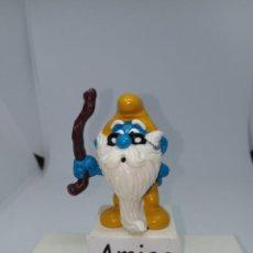 Figuras de Goma y PVC: OPA PITUFO - ABUELO - PITUFOS - SCHLEICH. Lote 269392563