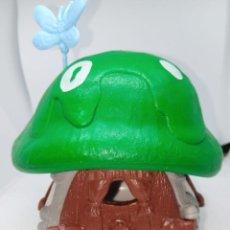 Figuras de Goma y PVC: CASA PEQUEÑA DE LOS PITUFOS - COMPLETA - TECHO VERDE Y BLANCO - SCHLEICH. Lote 269471968