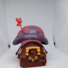 Figuras de Goma y PVC: CASA PEQUEÑA DE LOS PITUFOS - COMPLETA - SCHLEICH. Lote 269476108