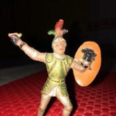 Figuras de Goma y PVC: SOLDADO MEDIEVAL - FIGURA DE GOMA - REAMSA - AÑOS 50 - 7 CMS.. Lote 269494468