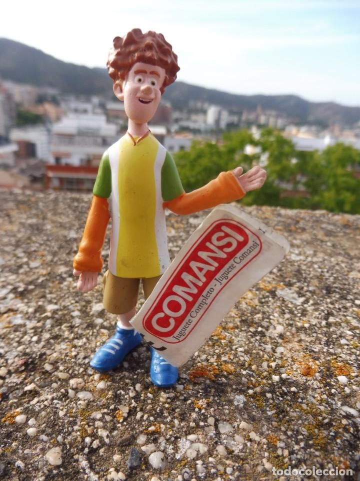 COMANSI FIGURA GOMA HOTEL TRANSILVANIA JONATHAN CON ETIQUETA, 2015 (Juguetes - Figuras de Goma y Pvc - Comansi y Novolinea)