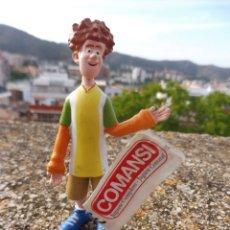 Figuras de Goma y PVC: COMANSI FIGURA GOMA HOTEL TRANSILVANIA JONATHAN CON ETIQUETA, 2015. Lote 269626538