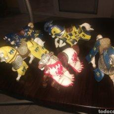 Figuras de Goma y PVC: LOTE 5 CABALLOS PAPO. Lote 269722673