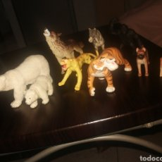 Figuras de Goma y PVC: LOTE ANIMALES SCHLEICH Y OTROS. Lote 269723458