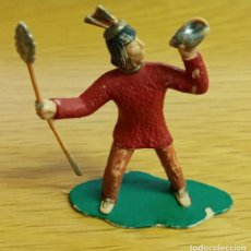 Figuras de Goma y PVC: REAMSA AZTECA SERIE HERNAN CORTES LA CONQUISTA DE MEXICO. Lote 269759473