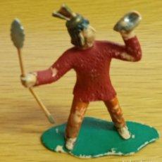 Figuras de Goma y PVC: REAMSA AZTECA SERIE HERNAN CORTES LA CONQUISTA DE MEXICO. Lote 269759778