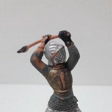 Figuras de Goma y PVC: GUERRERO MEDIEVAL . FIGURA REAMSA Nº 120 . SERIE TORNEO REAL . ORIGINAL AÑOS 60. Lote 269814373