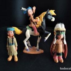 Figuras de Goma y PVC: YAKARI COMIC FRANCES - FAMILIA - MARCA: BULLY - GRAN CALIDAD DE DETALLE.. Lote 269848618
