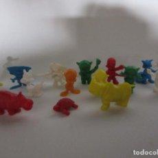 Figuras de Goma y PVC: 15 FIGURAS DIFERENTES DUNKIN. Lote 269947908