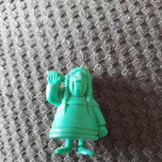 Figuras de Goma y PVC: DUNKIN PHOSKITOS INDIO SERIE VERDE LUCKY LUKE. Lote 270088908