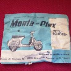 Figuras de Goma y PVC: MOTO SCOOTER DE MONTA-PEX. Lote 270089918