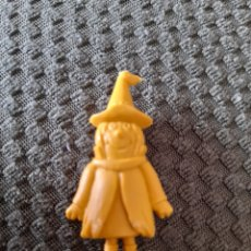 Figuras de Goma y PVC: DUNKIN PHOSKITOS BRUJA SERIE AMARILLA HANNA BARBERA BARBERA VERSIÓN SUDAMERICANA. Lote 270105043