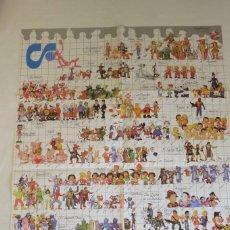 Figuras de Goma y PVC: COMICS SPAIN POSTER GRANDE. Lote 270134203