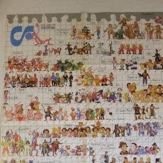 Figuras de Goma y PVC: POSTER PUBLICITARIO DE COMICS SPAIN. Lote 270134748
