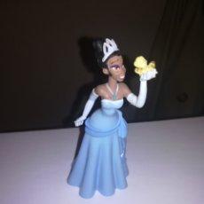 Figuras de Goma y PVC: WALT DISNEY FIGURA DE PVC BULLY PRINCESA TIANA Y EL SAPO. Lote 270181983