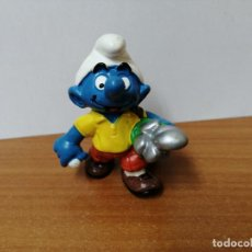 Figuras de Goma y PVC: MUÑECO PITUFO DE GOMA SCHLEICH. Lote 270356683