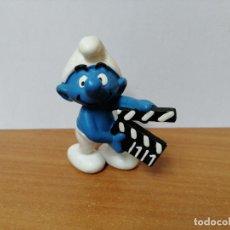Figuras de Goma y PVC: MUÑECO PITUFO DE GOMA SCHLEICH. Lote 270356793
